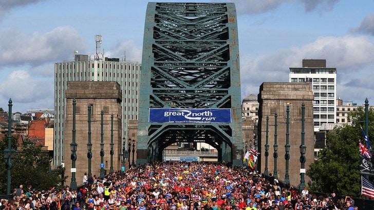 Appuntamento al 2021 per la Great North Run