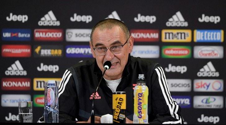 """Juve, Sarri: """"È il momento di tirare fuori tutto quello che abbiamo"""""""