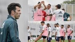 Juve, Buffon e Cristiano Ronaldo a caccia di record. Dybala scalda il mancino