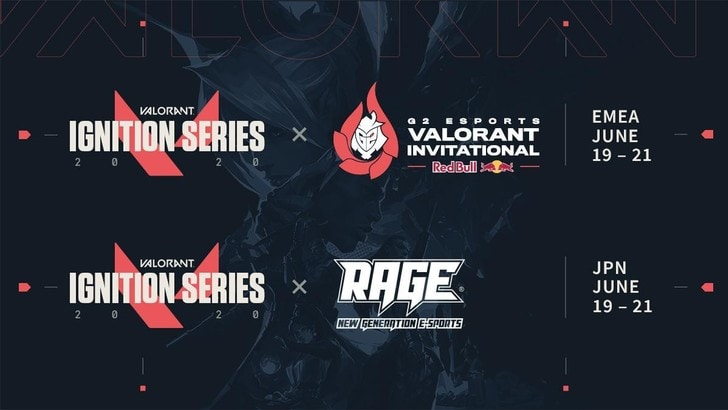 La Ignition Series annunciate per l'esport di Valorant