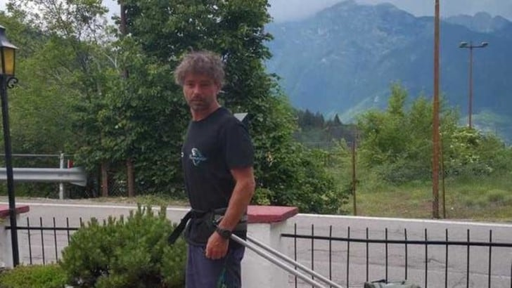 Yanez Borella, dal Trentino a Roma di corsa per ADMO