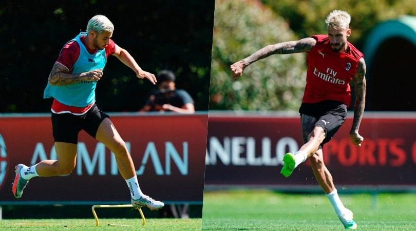 Il Milan ritrova gli squalificati Theo Hernandez e Castillejo