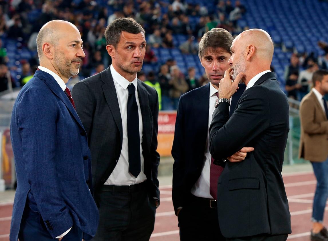 Milan, Gazidis, Maldini e Massara a colloquio con Pioli prima del Lecce -  Tuttosport