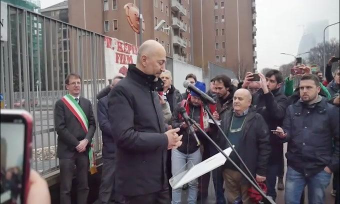 Milan, dirigenza al completo in visita a Milanello