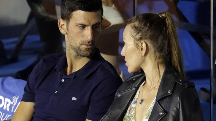 Djokovic e la moglie positivi al Coronavirus