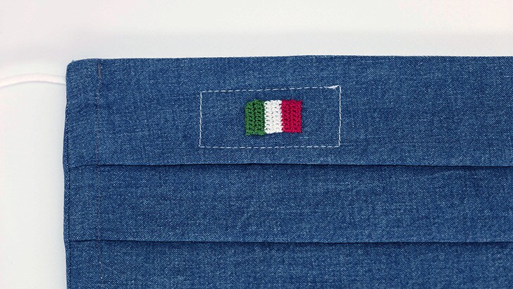 Lapo Elkann insieme ad Angelo Inglese celebrano la resilienza italiana