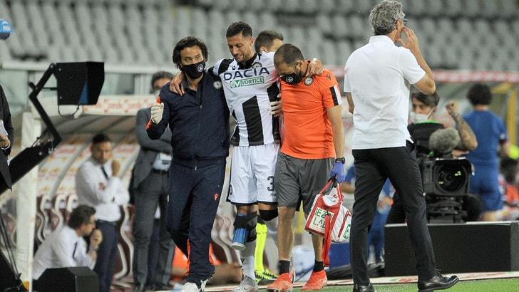 Udinese, stagione finita per Mandragora: il crociato è rotto