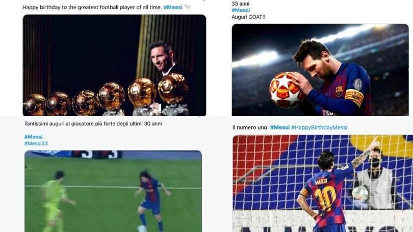 """Messi spegne 33 candeline: """"Auguri al più forte del mondo"""""""