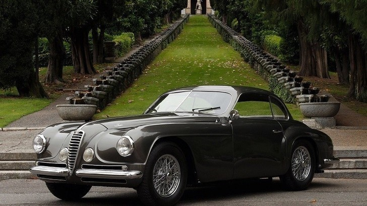 Alfa Romeo 6C 2500 si conferma la star al Villa d'Este Style