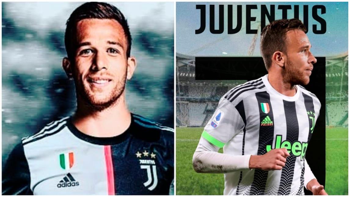 Arthur alla Juve, Pjanic al Barcellona per i social