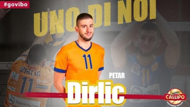 Petar Dirlic opposto croato per Vibo