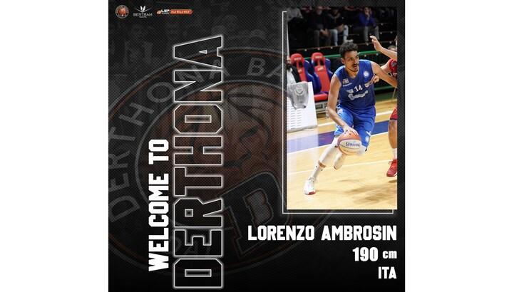 Lorenzo Ambrosin è un giocatore del Derthona