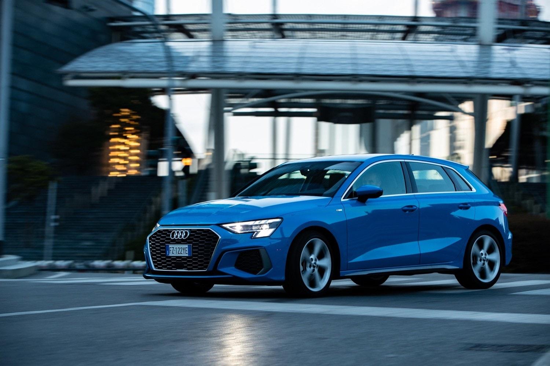 Nuova Audi A3 Sportback, la prova: gli scatti