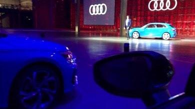 Nuova Audi A3 Sportback, la presentazione a Milano VIDEO