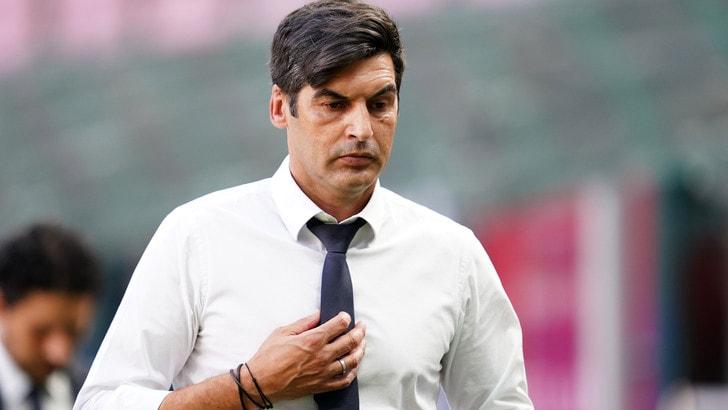 """Roma, Fonseca: """"Abbiamo regalato la vittoria al Milan"""""""