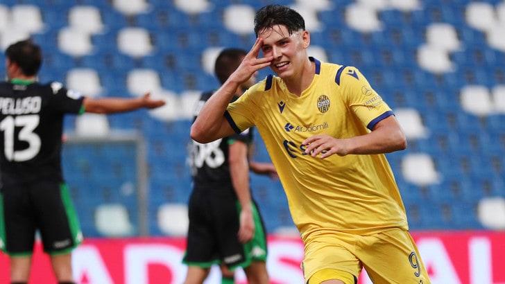 Verona, ceduto Stepinski al Lecce in prestito