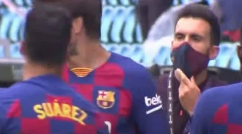 Messi, tensione con Sarabia: l'argentino ignora il vice di Setien