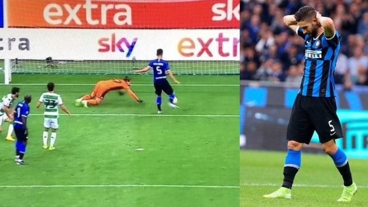 Gagliardini e l'errore di Inter-Sassuolo: