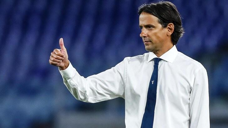 """Inzaghi: """"L'obiettivo della Lazio è la Champions"""