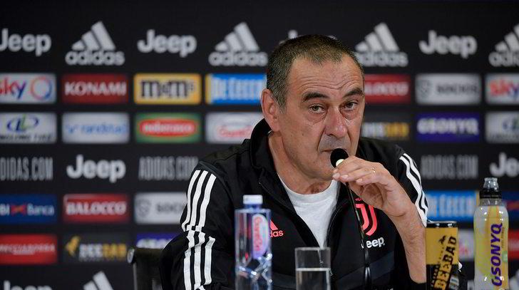 """Juve, Sarri: """"Pjanic concentratissimo. Giocano Dybala e Ronaldo"""""""