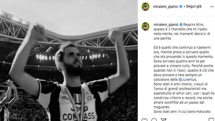 Pjanic, lettera di addio alla Juve: il messaggio è emozionante!