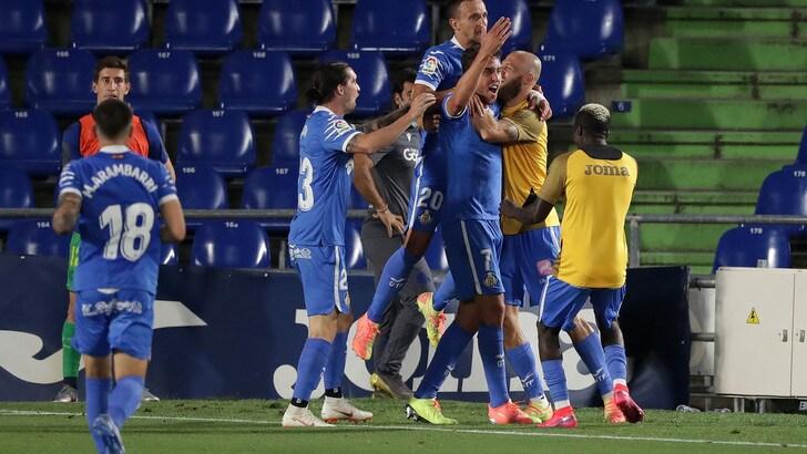 Liga, doppietta di Mata e Real Sociedad ko: il Getafe vede la Champions