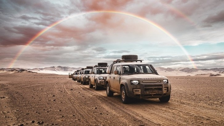 Land Rover Defender, a caccia d'avventura