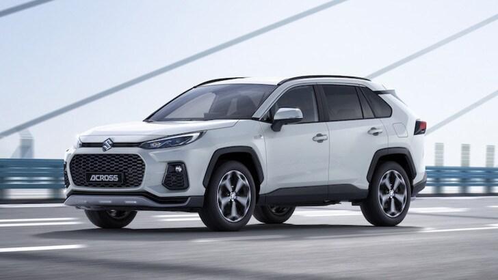 Suzuki Across, il SUV plug-in hybrid