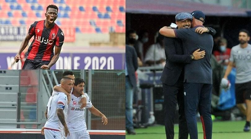 Barrow e Simeone infiammano Bologna-Cagliari: 1-1 tra Zenga e Mihajlovic