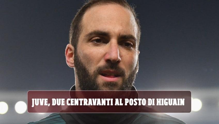 La Juve raddoppia le punte: due centravanti al posto di Higuain