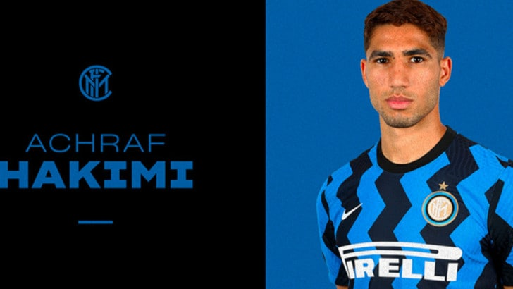 Ufficiale, Hakimi è un nuovo giocatore dell'Inter