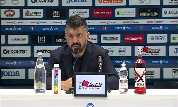 "Gattuso su Osimhen: ""Non mi esprimo"""