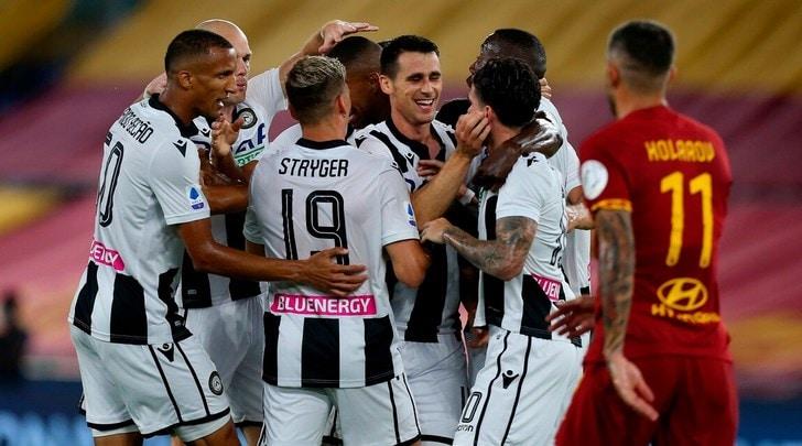 Roma-Udinese 0-2: Fonseca ancora ko, l'Atalanta scappa a +12