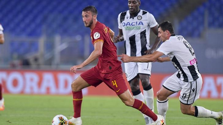 Roma-Udinese 0-2, il tabellino