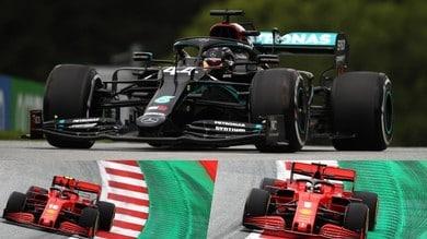 Formula 1, di nuovo in pista con le prove libere in Austria