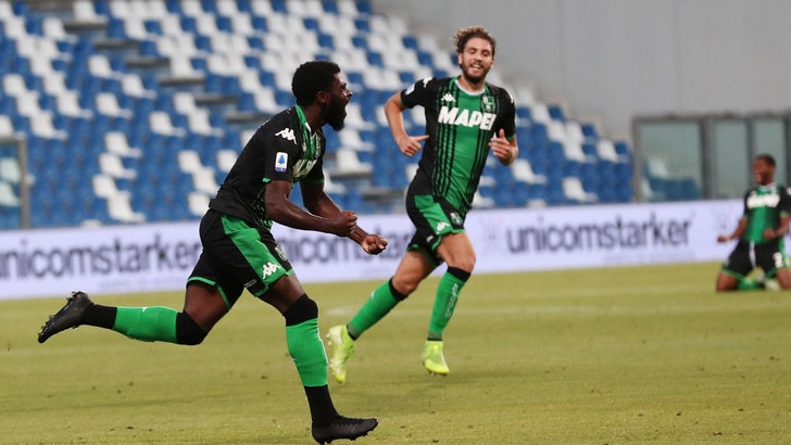 Sassuolo-Lecce 4-2: Boga e Muldur fanno sognare De Zerbi
