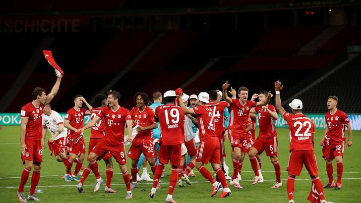 Il Bayern trionfa in Coppa di Germania: steso il Leverkusen 4-2