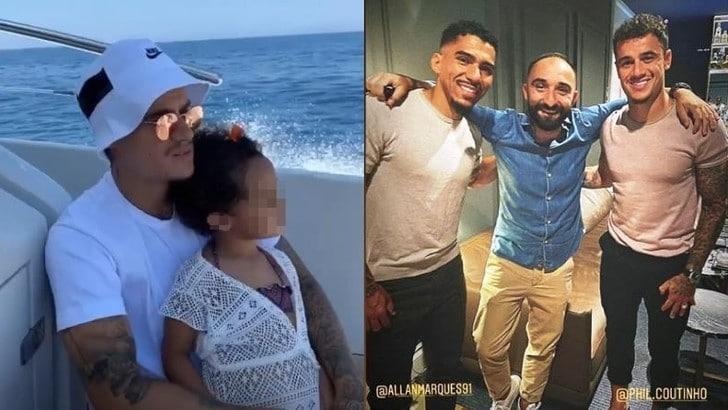 Coutinho in visita a Napoli: tifosi scatenati sui social network