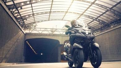 Yamaha Tricity 300, pronto per la città