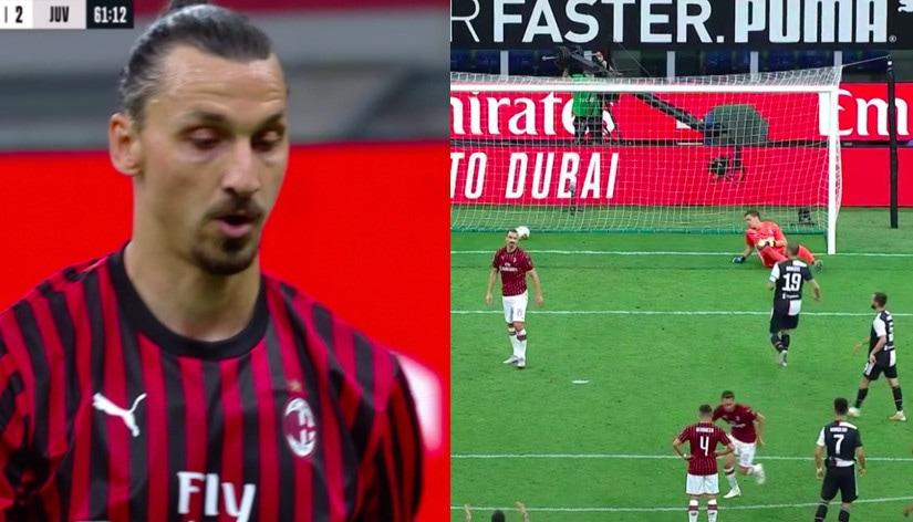 Scintille in campo tra Ronaldo e Ibrahimovic in Milan-Juve