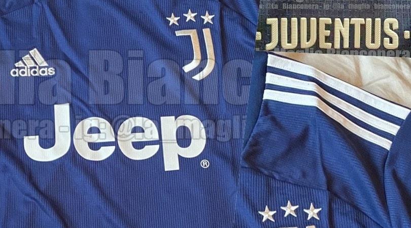 La Juve si veste di blu notte: ecco la nuova maglia da trasferta