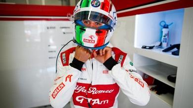 F1 Alfa Romeo, Giovinazzi: