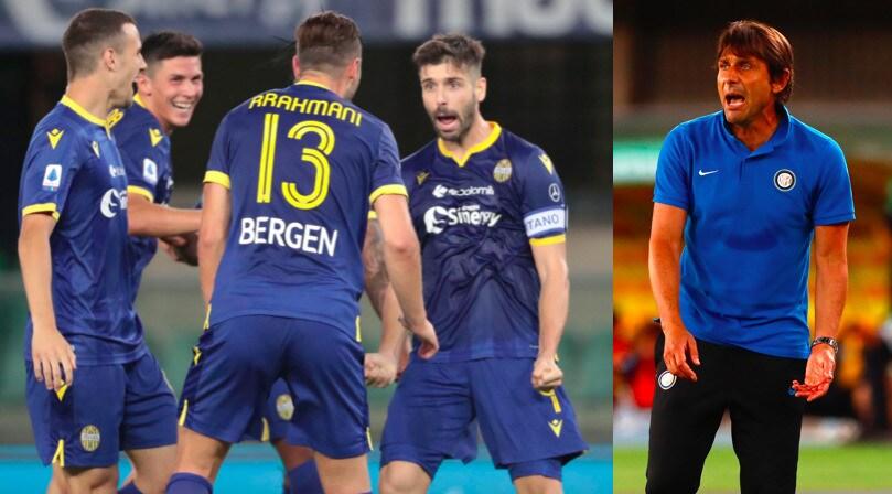 Veloso ferma l'Inter sul pareggio: Conte deluso in panchina