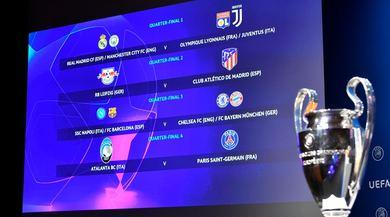 Champions, i sorteggi: per la Juve ci sono Real Madrid o City se passa ai quarti