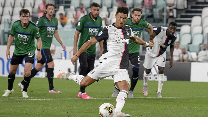 Juventus-Atalanta 2-2, il tabellino