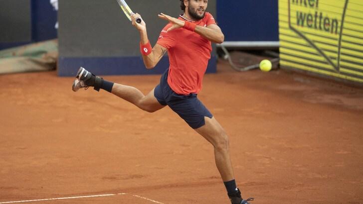 Berrettini in finale all'Ultimate Tennis Showdown. Battuto Gasquet