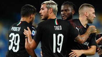 Napoli-Milan 2-2: Kessie beffa Gattuso. Furia Ibrahimovic