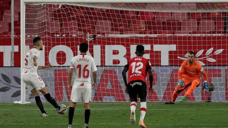 Ocampos segna e il Siviglia vince ancora. Il Valencia cade con il Leganes