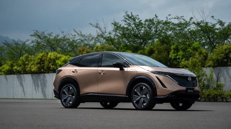 Nissan Ariya: gli scatti