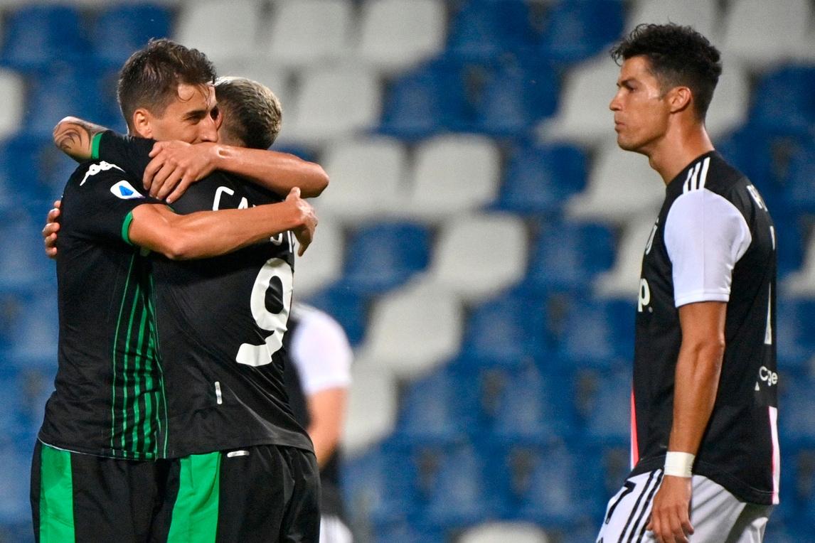 Juve: che sofferenza! Il Sassuolo sfiora l'impresa, Alex Sandro firma il pareggio